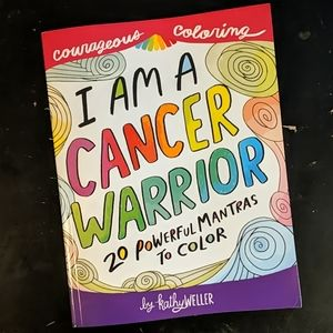 Cancer Warrior Adult Courageous Coloring Book